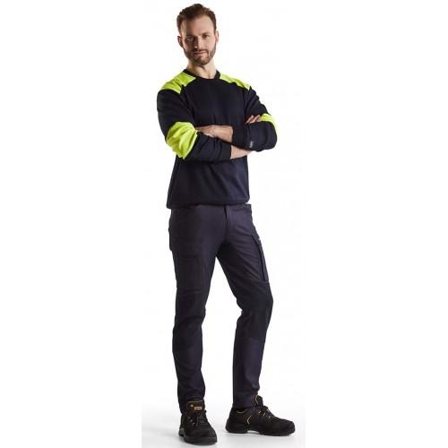 Blåkläder Inherentbyxa Flamskydd Stretch