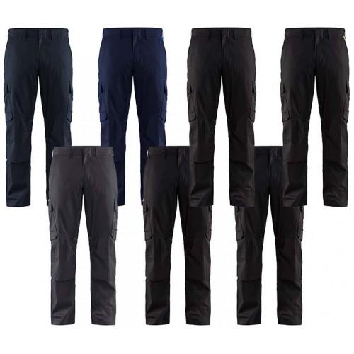 Blåkläder Industribyxa Stretch Knäskydd