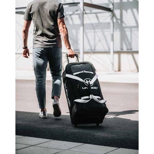Unihoc Goalie Wheelbag Re/play Line